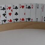 Kartenhalter für Skatspieler