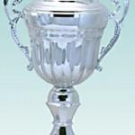 Skat Pokal mit Henkel 39 cm und Gravur